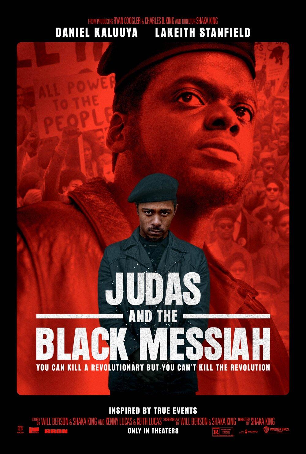 Poster For Judas And The Black Messiah — BlackFilmandTV.com